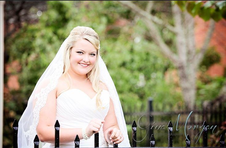 Memphis Wedding Makeup Artist Haley Moffitt bride Molly