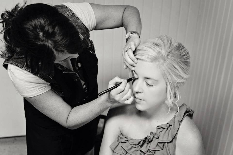 Memphis Wedding Makeup Artist Haley Moffitt bride jenny