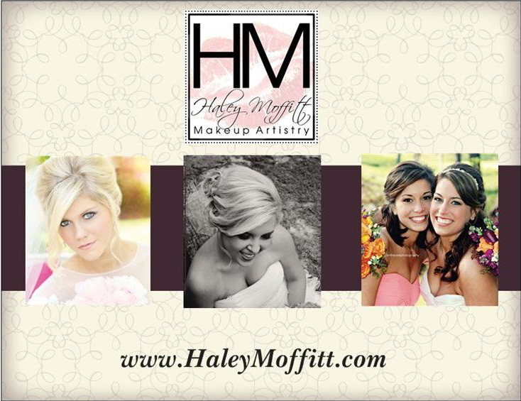 Memphis Wedding Makeup Artist Haley Moffitt postcard