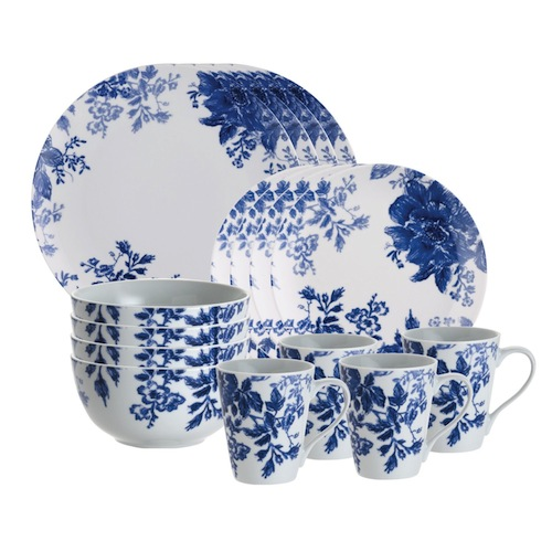 bluebell dinnerware set for mixing and matching