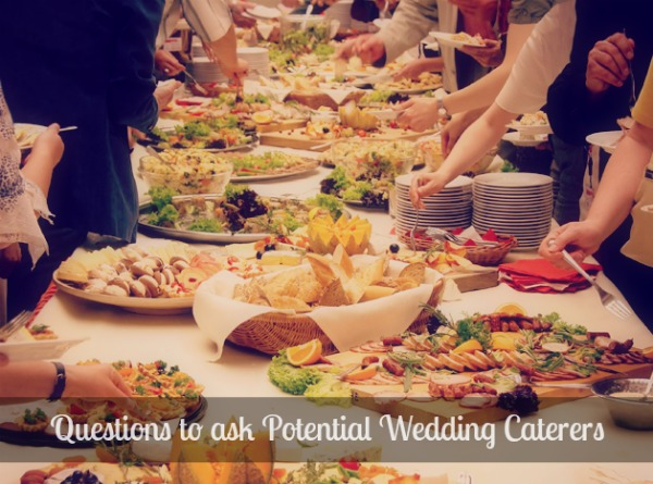 questions to ask potential wedding caterers