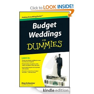 best wedding books for kindle - budget weddings for dummies