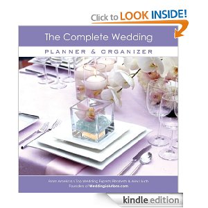 best wedding books for kindle - the complete wedding planner and organizer