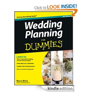 best wedding books for kindle - wedding planning for dummies