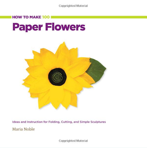 how to make 100 paper flowers - paper wedding flowers book