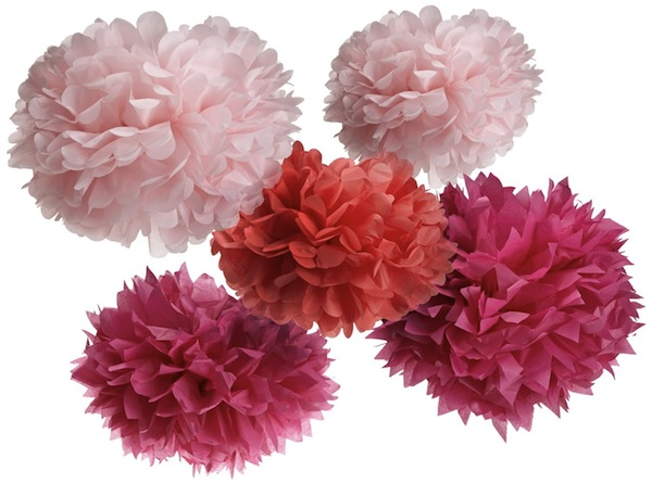 Diy hanging tissue paper flowers tutorial mid south bride martha stewart tissue paper flowers mightylinksfo