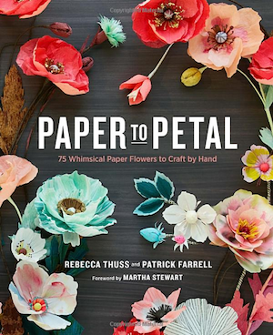 paper to petal - paper wedding flowers book