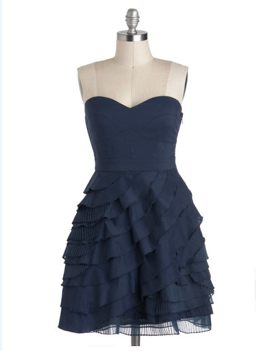 modcloth bridesmaid dress - Baklava Beauty Dress in Blueberry