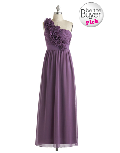 modcloth bridesmaid dress - let love flourish dress