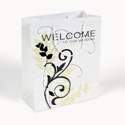 welcome to our wedding gift bags