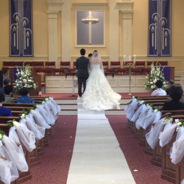 weddings at kingsway christian church ceremony