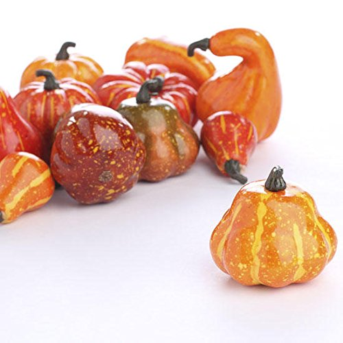 fall gourds and pumpkins for fall wedding