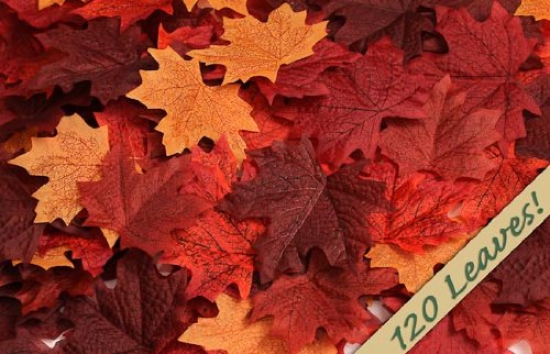 fall maple leaves for wedding