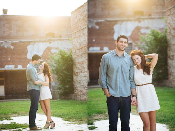 Downtown Memphis engagement WoodyandPearl Photography 2