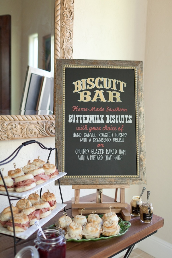 Biscuit Bar Morning Wedding Reception Ideas Mid South Bride