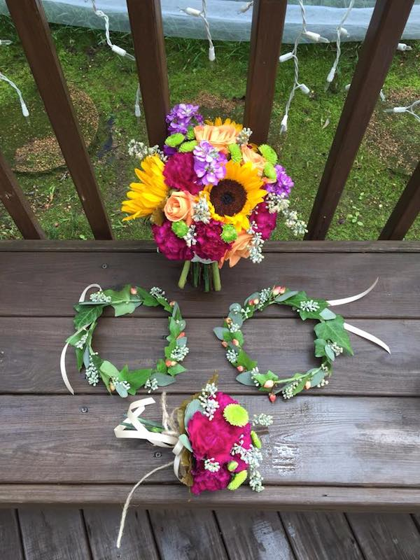 fall wedding flower design by kacie cooper floral designer