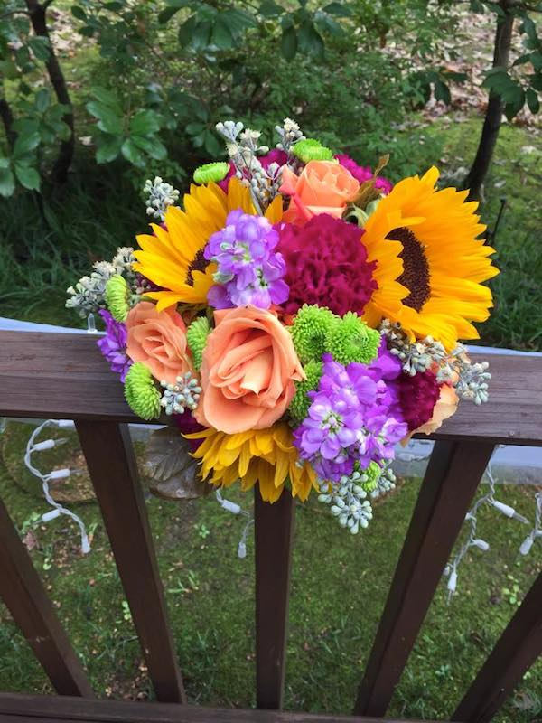fall wedding flowers bouquet by kacie cooper floral designer