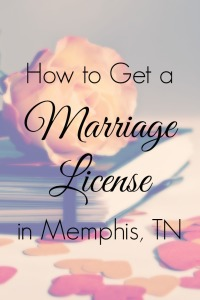 how to get a marriage license in memphis shelby county tn