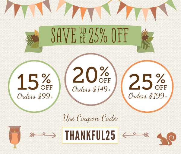 my wedding favors thanksgiving sale