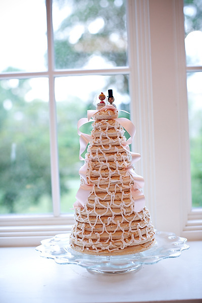 pancake cake - morning brunch wedding inspiration