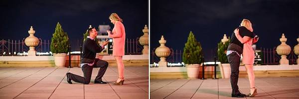 peabody rooftop proposal photo by amy dale photography