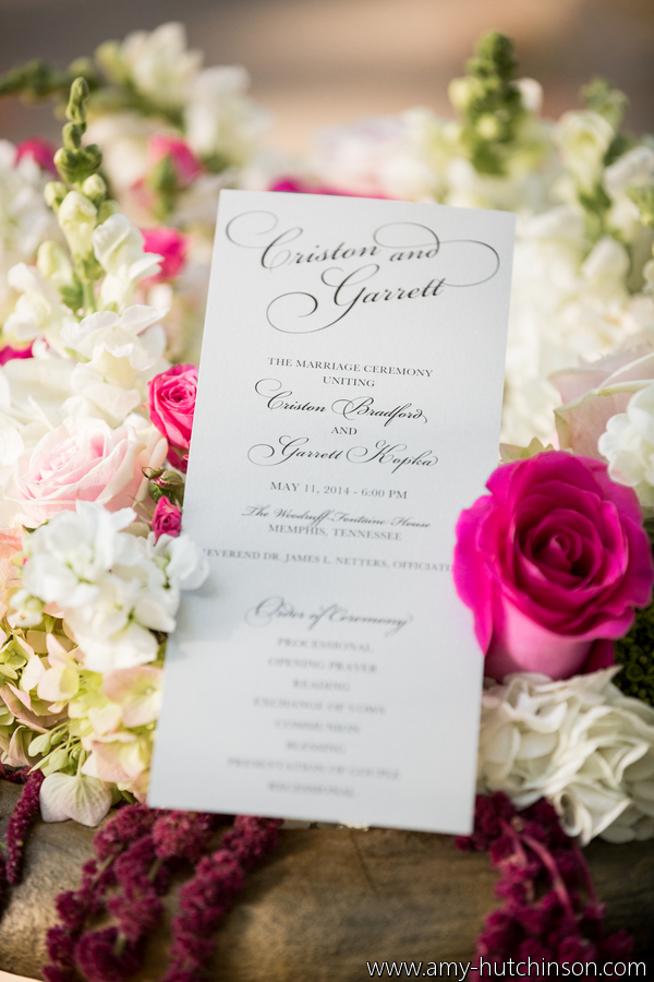 Memphis Wedding Planner - Andria Lewis Events, Photo - Amy Hutchinson Photography, midsouthbride.com
