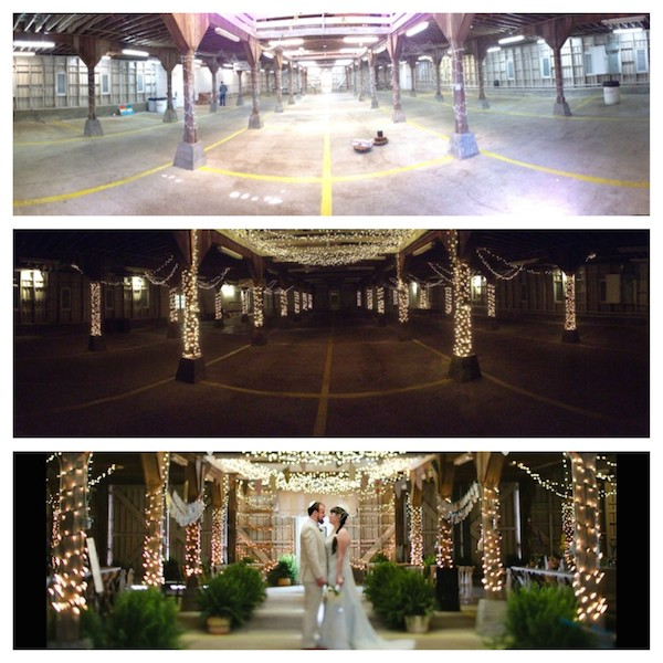 memphis wedding agricenter venue transformation