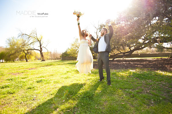 memphis wedding photographer - maddie moree - jumping-couple-memphis-wedding-ceremony copy