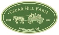 memphis wedding venue - cedar hill farm