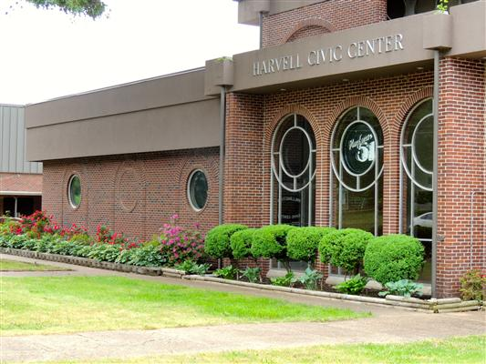 memphis wedding venue - harvell civic center