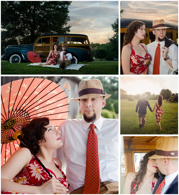 Kat and James' Retro Tennessee Engagement Session - And How Imaging 13 - midsouthbride.com