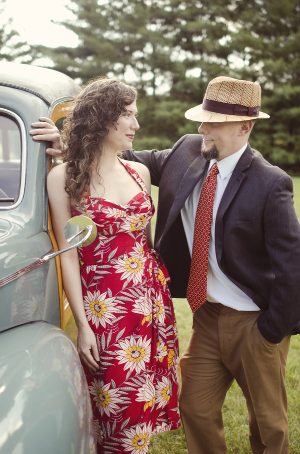 Kat and James' Retro Tennessee Engagement Session - And How Imaging 15 - midsouthbride.com