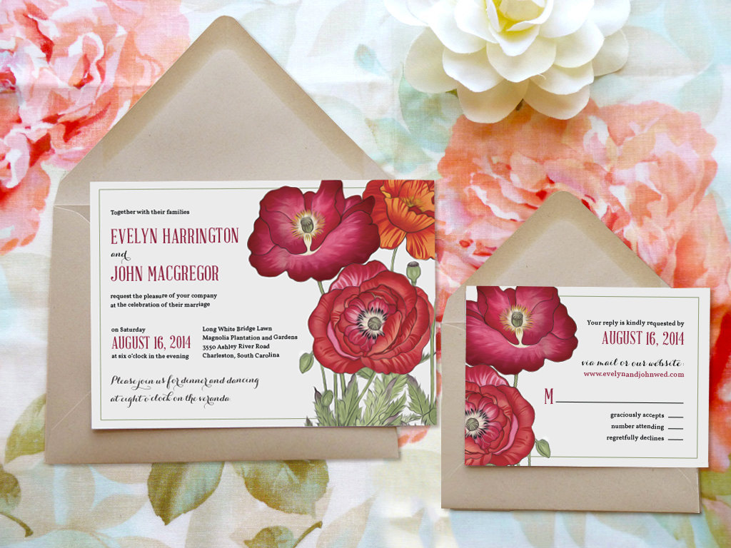20 Beautiful Garden Wedding Invitations | Mid-South Bride