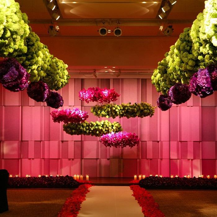 Hanging Flowers Wedding Decor Inspiration Mid South Bride