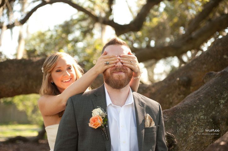 reasons to have a first look - memphis wedding photographer maddie moree