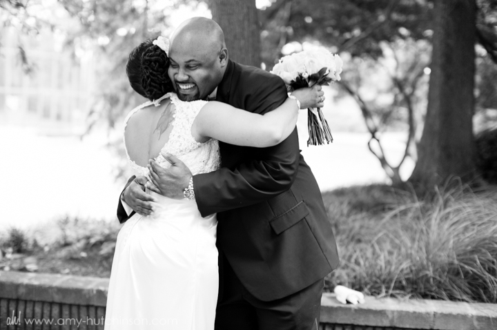 reasons to have a first look - memphis wedding photography amy hutchinson photographer