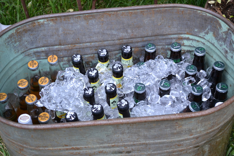 save money on wedding alcohol costs - serve beer - photo wed memphis