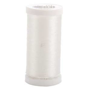 tissue paper flower supplies - invisible thread