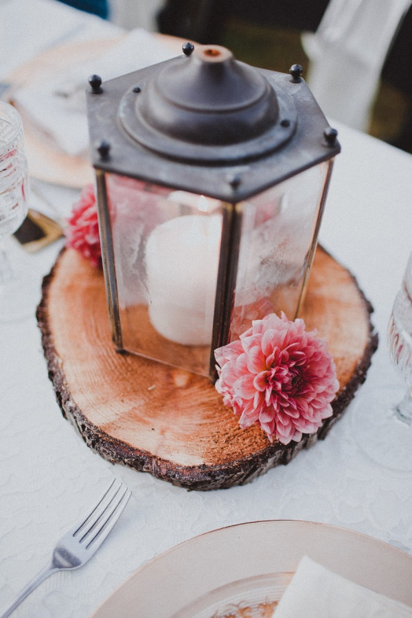 lantern wedding centerpiece - photo by Ryan Flynn Photography - midsouthbride.com