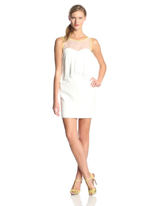 little white dress - vine camuto womens sheath dress in white wedding