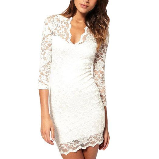 little white dress - vobaga white womens cocktail dress