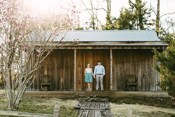 memphis spring creek ranch engagement - photo by Kelly Ginn Photography - midsouthbride.com