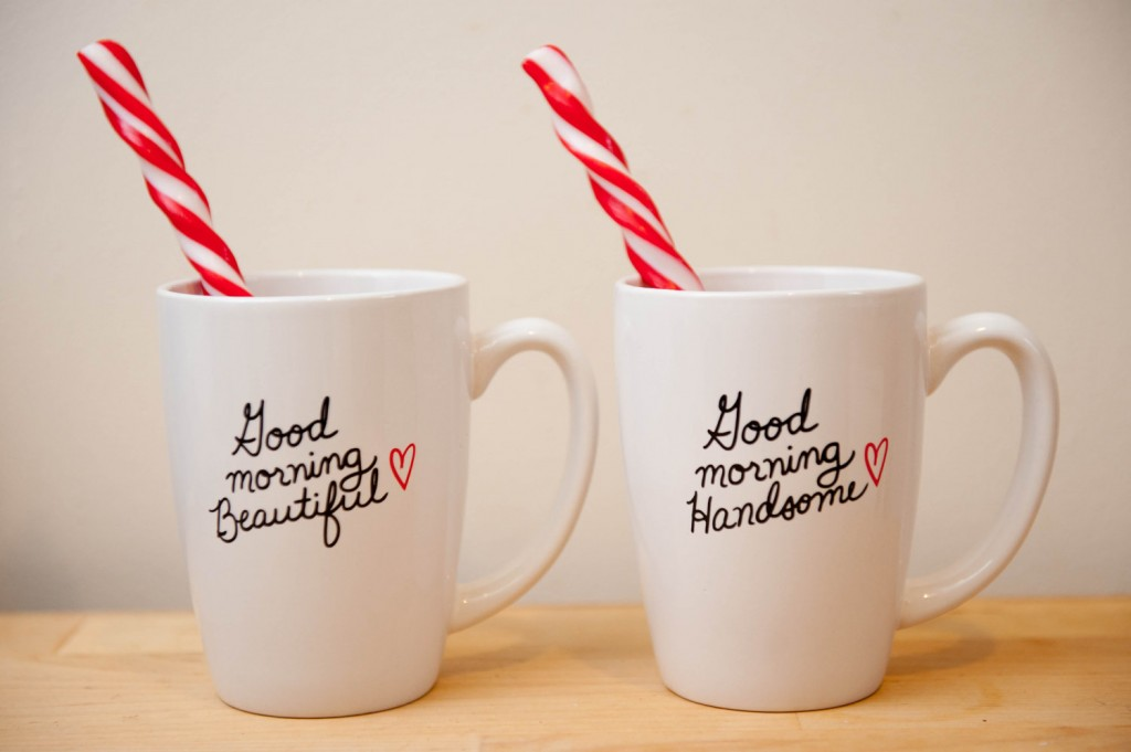 good morning his and her mugs