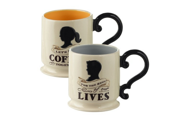lets have coffee for the rest of our lives coffee mugs