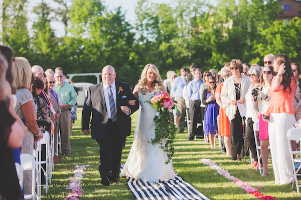 Kate Spade Inspired Jackson Tennessee Wedding 6 - photo by Teale Photography - midsouthbride.com