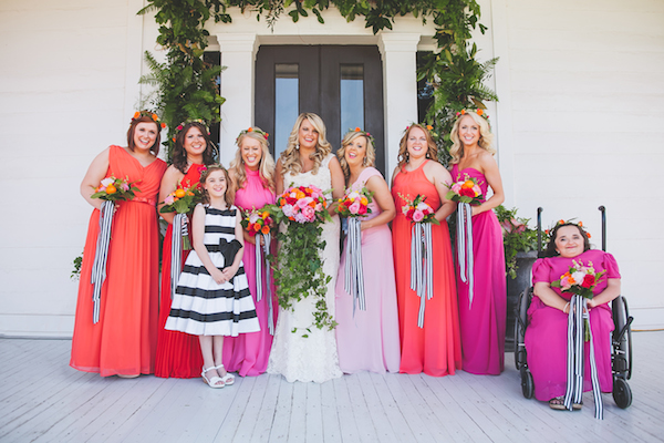Kate Spade Inspired Tennessee Wedding Wedding Party 3 - photo by Teale Photography - midsouthbride.com