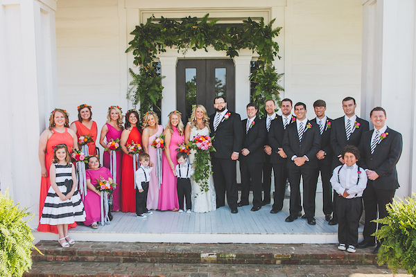 Kate Spade Inspired Tennessee Wedding Wedding Party 8 - photo by Teale Photography - midsouthbride.com