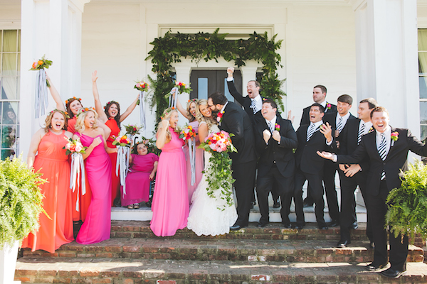 Kate Spade Inspired Tennessee Wedding Wedding Party 9 - photo by Teale Photography - midsouthbride.com