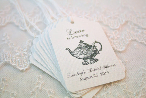 love is brewing teapot tags for tea party bridal shower midsouthbridecom