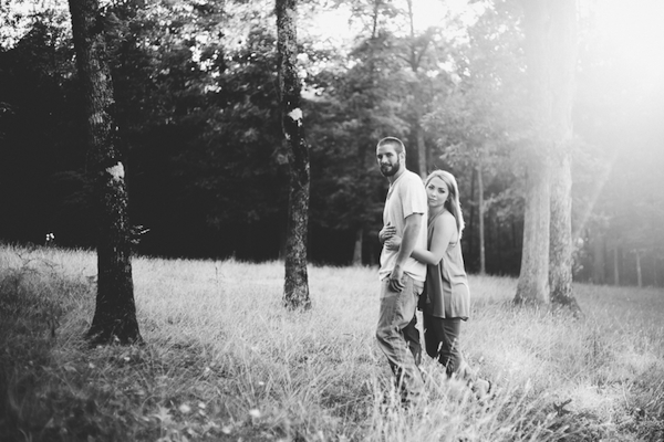 Carson and Ryan Tennessee Forest Engagment 21 - photo by Healthy Faulkner Photography - midsouthbride.com